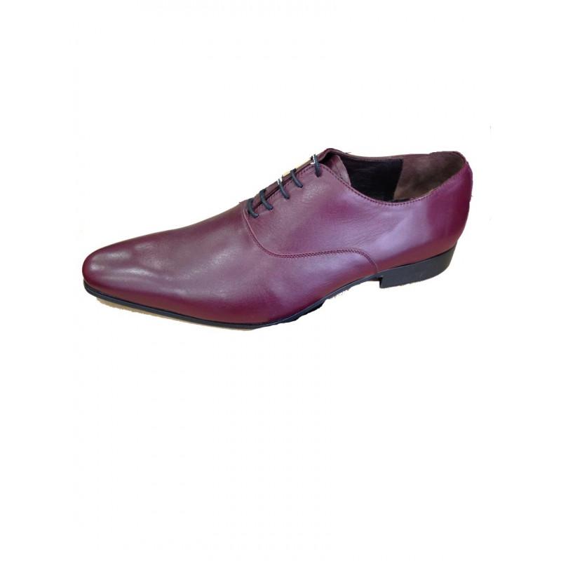 Bordeaux Homme Ceremonie Cuir En Express Chaussures qwRYa8tF