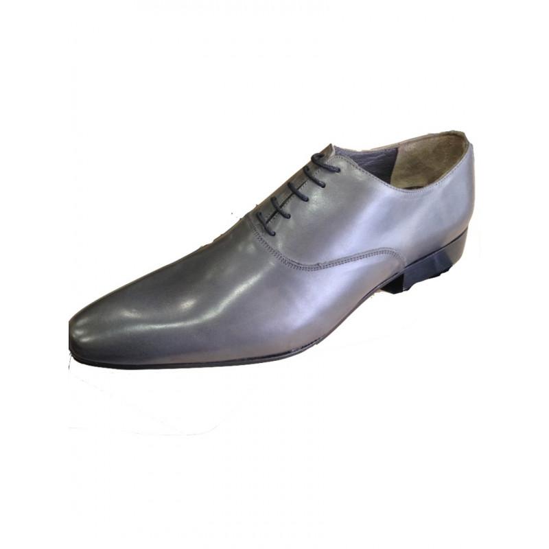 4a5deb694e1 Chaussures homme en cuir gris