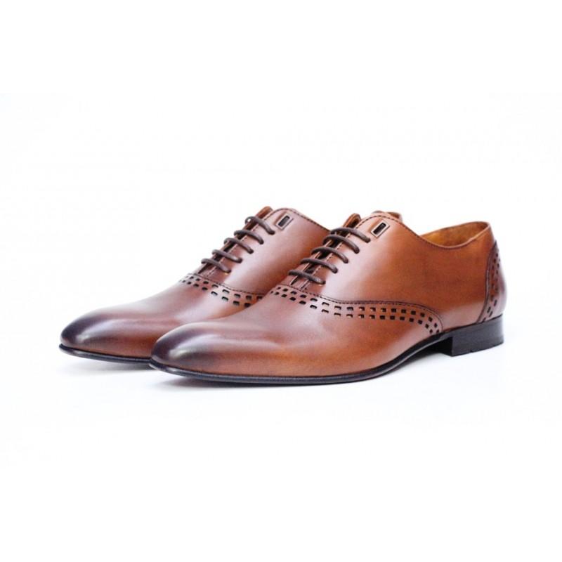 chaussure homme cuir marron