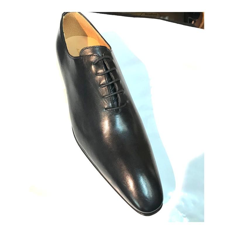 taille 40 f00a1 cac8c Chaussure homme classique noir en cuir fabriqué en Italie
