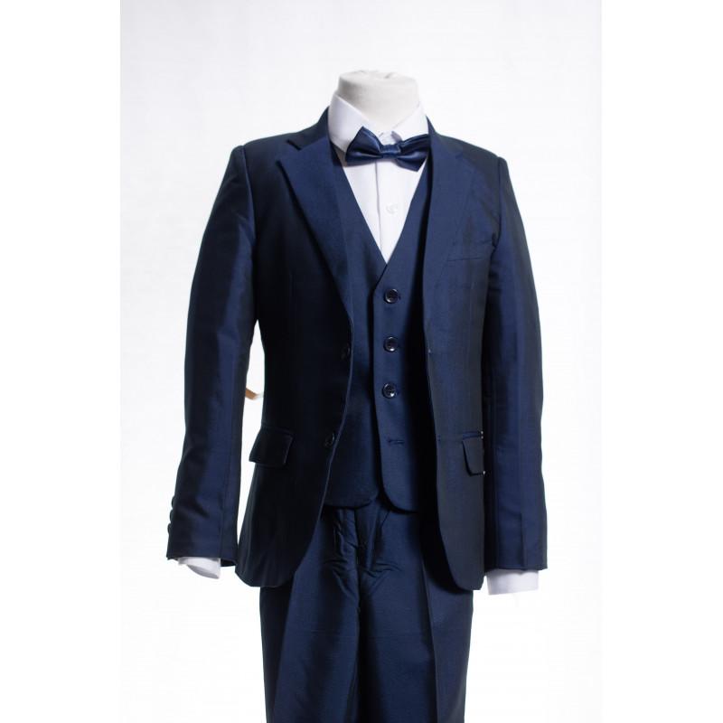 costume gar on bleu roi thomas. Black Bedroom Furniture Sets. Home Design Ideas
