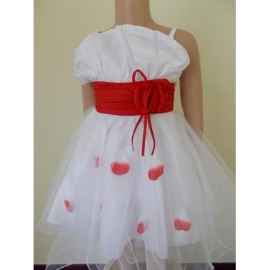 5480905ff91 Robe enfant Irina couleur rouge bordeaux