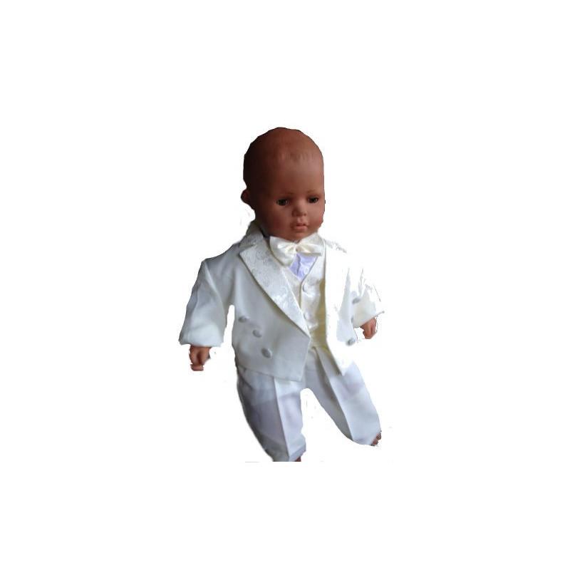 35c50000b31 Costume bébé ivoire